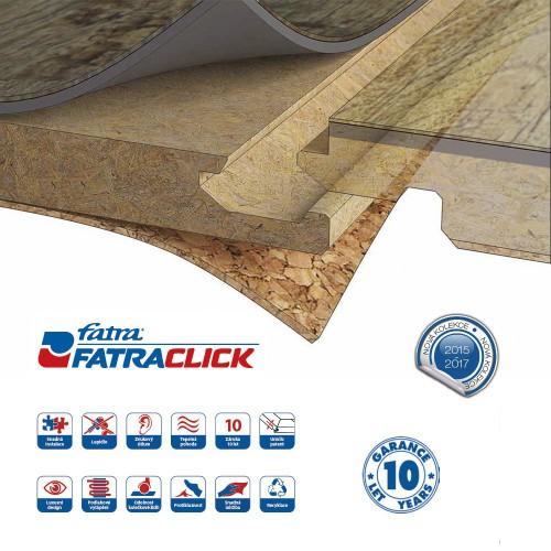 FatraClick Dub přírodní 6398-B
