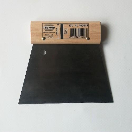Špachtle na nanášení lepidel - ozubení A1, šíře 18 cm