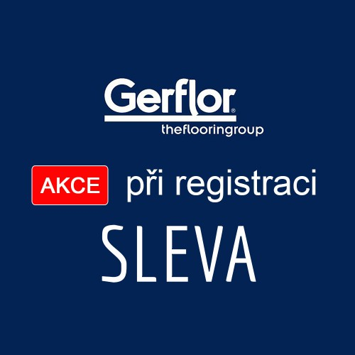 Za registraci dostanete SLEVU