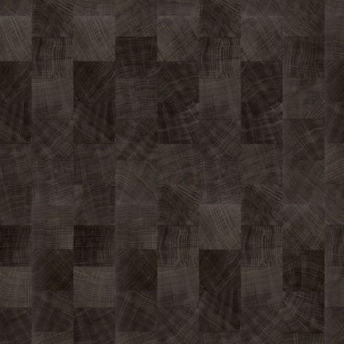 Expona Domestic 5843 Dark Endgrain Woodblock
