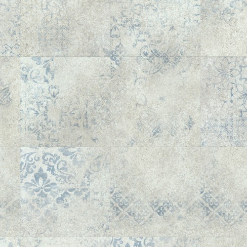 Expona Domestic 5869 Blue Stencil Concrete