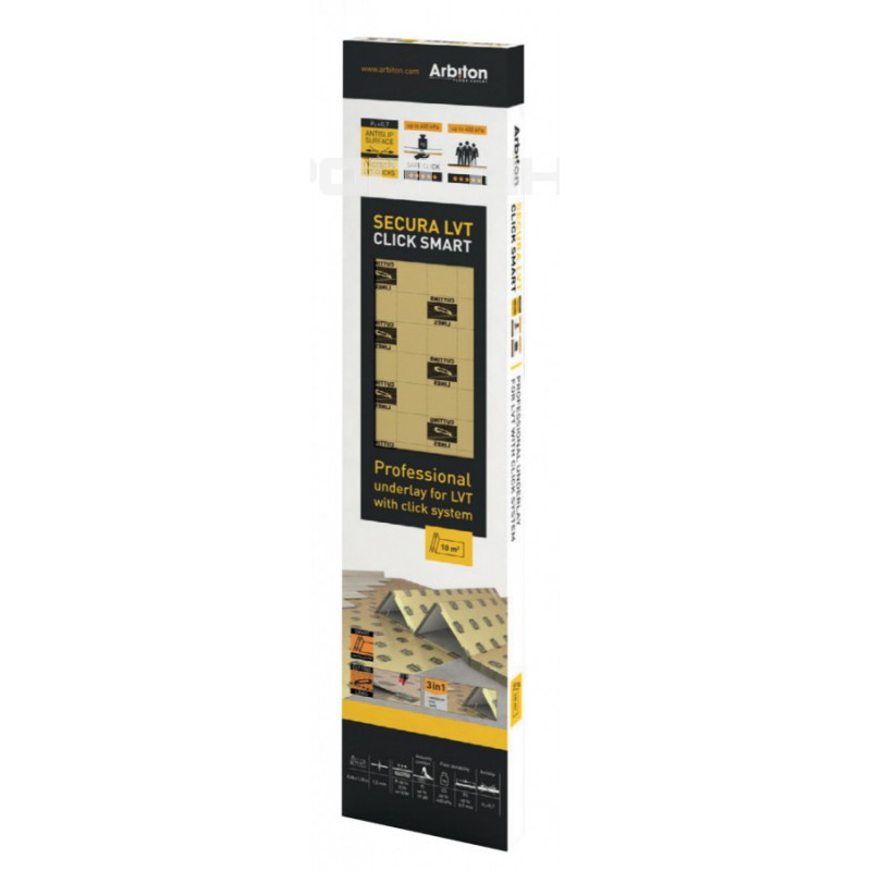 Arbiton Secura LVT Click SMART 1,5mm 10m2