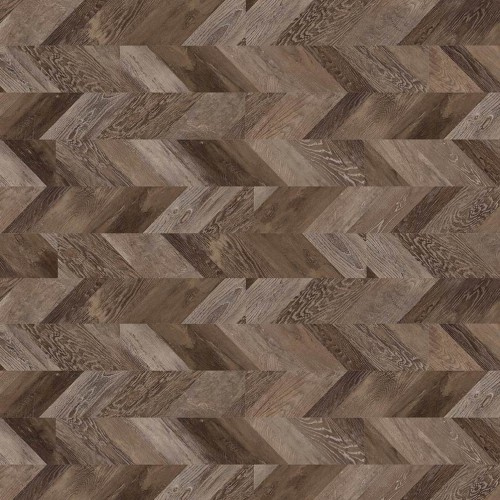 Gerflor CREATION 55 - 0810 Chevron Moka 1219x184mm