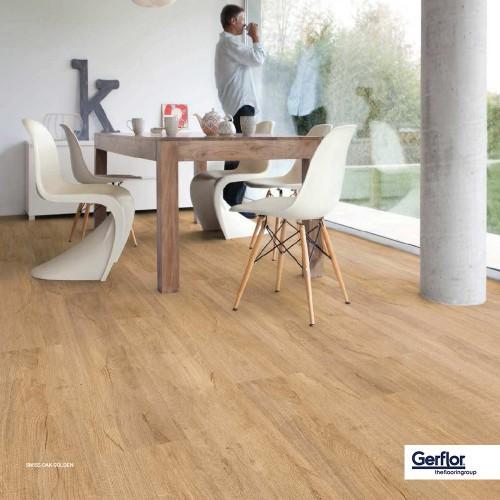 Gerflor CREATION 55 CLIC - 0796 Swiss Oak Golden 1239x214mm