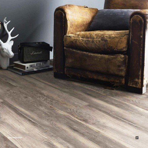 Gerflor CREATION 55 CLIC - 0856 Paint Wood Taupe 1239x214mm
