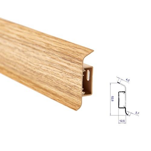 Soklová lišta THX ZDARMA ke každému 1m2 podlahy - dostanete 1bm lišty