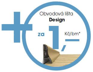 Lišta zdarma - Design
